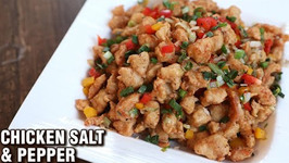 Chicken Salt And Pepper / How To Make Chicken Popcorn / Chicken Snack Recipe By Varun Inamdar
