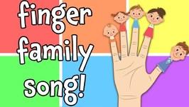 The Finger Family - Best Nursery Rhyme Song for Kids