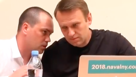 Russian Opposition Leader Navalny Calls Prosecution a Political Persecution