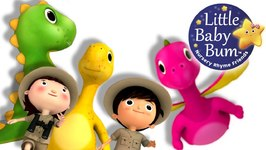 Little Baby Bum - Dinosaur Song - Nursery Rhymes for Babies - Songs for Kids