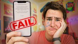 My 1100 iPhone X Fail