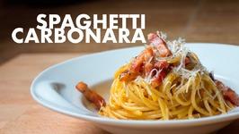 Espaghettis A La Carbonara Autentica Italiana