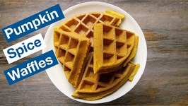 Not Just For Fall - Pumpkin Spice Waffles