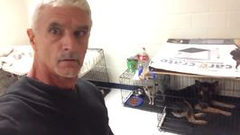 Man Records What It's Like Inside a Hurricane Shelter