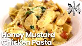 The Best Budget Meal - Honey Mustard Chicken Pasta