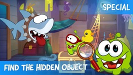 Find the Hidden Object Ep18 - Om Nom Stories- The Sunken Ship