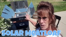 Solar Oven Meatloaf