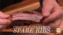 Spare Rib Recipe - Chipotle Cinnamon Spare Ribs - Pit Barrel Cooker