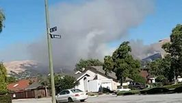 Fast Moving Fire Destroys Two Homes, Burns 20 Acres Near San Jose