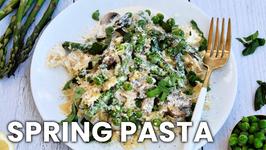 Easy Creamy Spring Pasta