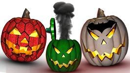 Halloween Pumpkin Transforms Superhero Finger Family Rhymes - Superhero Pumpkin Songs For Halloween