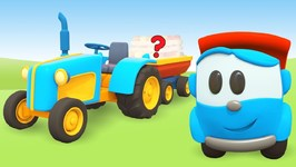 Leo the Truck and a Tractor for Kids- Car Cartoons for Toddlers