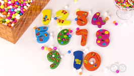 Learn Numbers With Surprise Box- Fun Learning For Kids