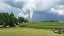 Tornado Touches Down in Iowa County