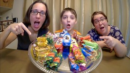 East European Candy Taste Test /Gay Family Mukbang - Eating Show