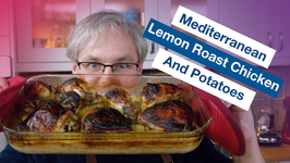 Mediterranean Lemon Roast Chicken And Potatoes