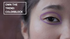 Winter Make-Up Trends - Block Colors