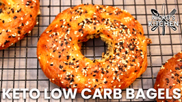 Keto Low Carb Bagels Recipe With Fat Head Dough