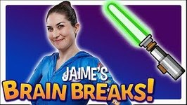 Jaime's Brain Breaks 7 Jedi Strength and Focus