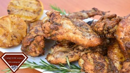 The ULTIMATE Lemon Pepper, Garlic And Rosemary Chicken Wings