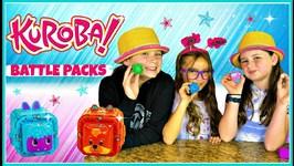 KUROBA Toy Review  Kuroba Toy BATTLE PACK & TRAINING PACK