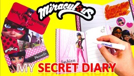 Miraculous Ladybug Secret Diary With Special Invisible Pen