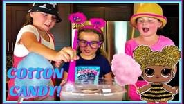 Cotton Candy Machine Maker - Yummy Cotton Candy Lollipops