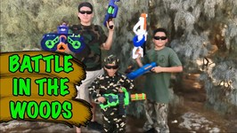 BATTLE IN THE WOODS with Dart Zone Blasters Covert Op by Prime Time Toys