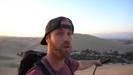 The Desert Oasis - Dune Buggy and Photography - Huacachina Peru Travel Vlog