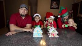 Gingerbread Houses! Damian vs. Deion