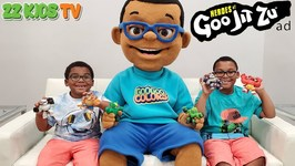 Oh No! Drone Master Cloned ZZ Kid! (Heroes of Goo Jit Zu Toy Scavenger Hunt!)