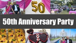 50th Anniversary Party Celebration Ideas Video Golden Jubilee
