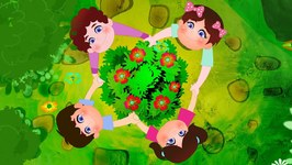 Ringa Ringa Roses - Kids Play Songs - Kindergarten Nursery Rhymes For Children