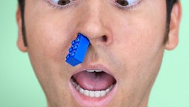 Lego Stuck In Nose