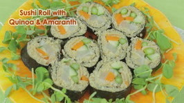 Sushi Roll With Quinoa And Amaranth Grains