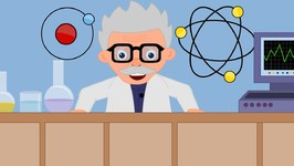 Five Mad Scientists - Cartoon Videos For Toddlers - Nursery Rhymes For Children