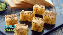 Bread Dhokla-Instant Bread Dhokla