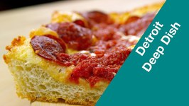 Make Detroit Deep Dish Pizza
