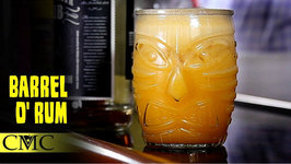 How To Make The Barrel O' Rum / Tiki Drink Month