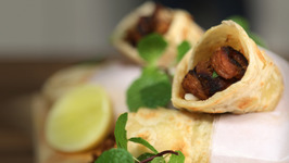 Mutton Kathi Roll -Mutton Wrapped In Roti -The Bombay Chef -Varun Inamdar