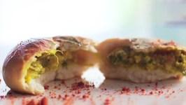 Baked Vada Pav - Oil Free Vada Pav - Healthy And Tasty