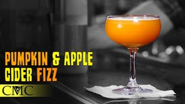 How To Make The Pumpkin And Apple Cider Fizz -Thanksgiving Cocktail
