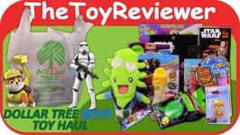 May 2017 Boys Dollar Tree Haul - 1 Toys Star Wars Paw Patrol Unboxing