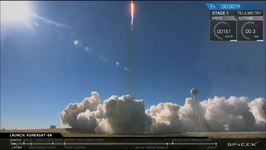 SpaceX Launches Korean Communications Satellite From NASA's Kennedy Space Center