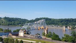 Bridge Connecting Ohio, Kentucky Demolished