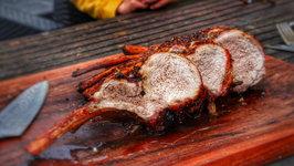 Duroc Tomahawk Spit Roast