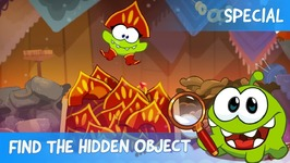 Find the Hidden Object Ep19 - Om Nom Stories- At The Fair