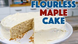 Flourless Maple Cake With Maple Icing Recipe - Keep Calm Bake On