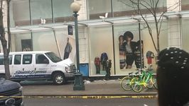 Several Injured as Van Jumps Curb, Hits Building in Downtown Seattle