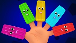Colorful Finger Family - Nursery Rhymes